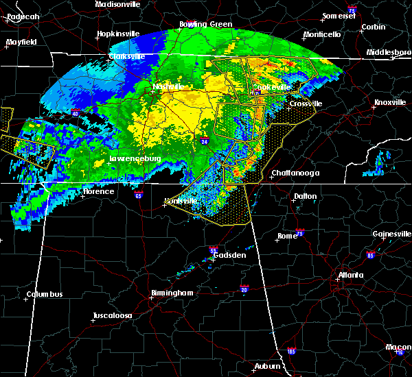 Radar Image for Severe Thunderstorms near Harrison, TN at 5/3/2020 7:05 PM EDT