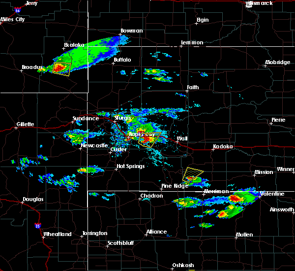 Radar Image for Severe Thunderstorms near Green Valley, SD at 5/3/2020 5:07 PM MDT