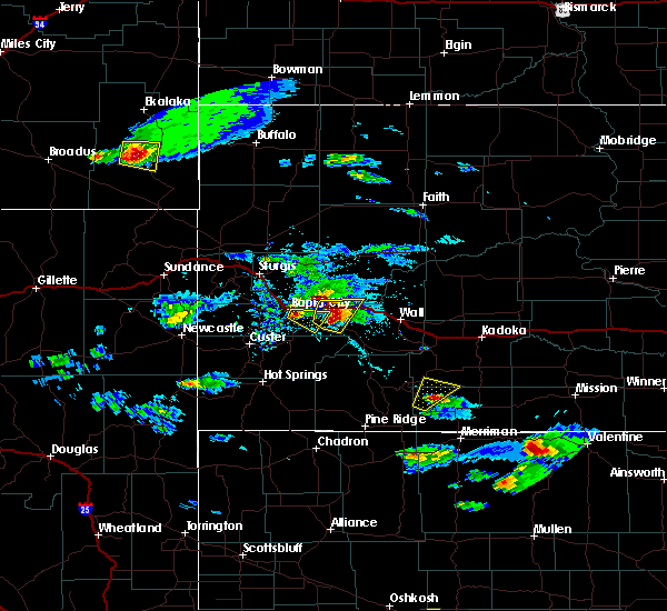 Radar Image for Severe Thunderstorms near Rapid City, SD at 5/3/2020 5:10 PM MDT