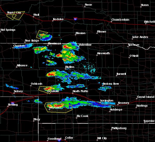 Radar Image for Severe Thunderstorms near Keystone, NE at 5/3/2020 5:17 PM MDT