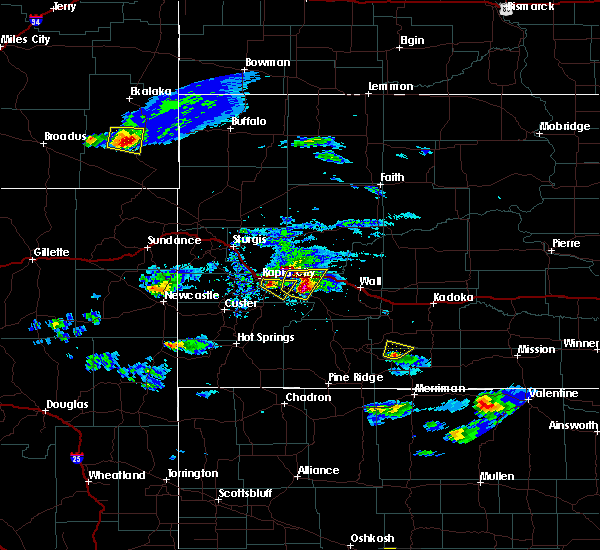 Radar Image for Severe Thunderstorms near Wall, SD at 5/3/2020 5:18 PM MDT