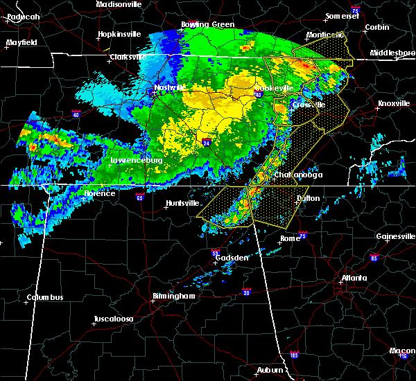 Radar Image for Severe Thunderstorms near Hollywood, AL at 5/3/2020 6:20 PM CDT