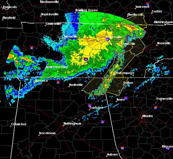 Radar Image for Severe Thunderstorms near Hollywood, AL at 5/3/2020 6:27 PM CDT