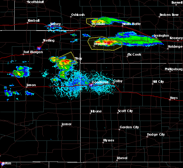 Radar Image for Severe Thunderstorms near Hayes Center, NE at 5/3/2020 6:31 PM CDT