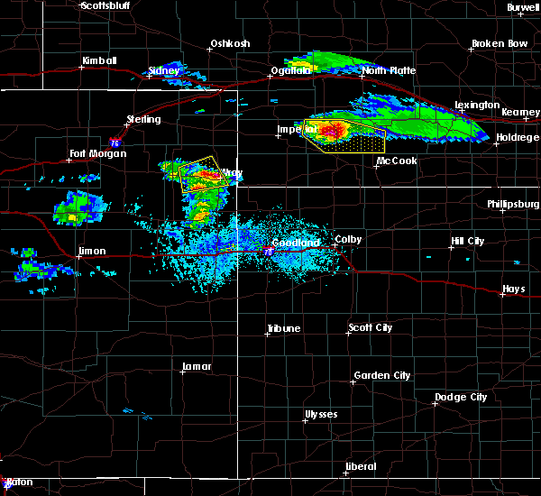Radar Image for Severe Thunderstorms near Laird, CO at 5/3/2020 5:45 PM MDT