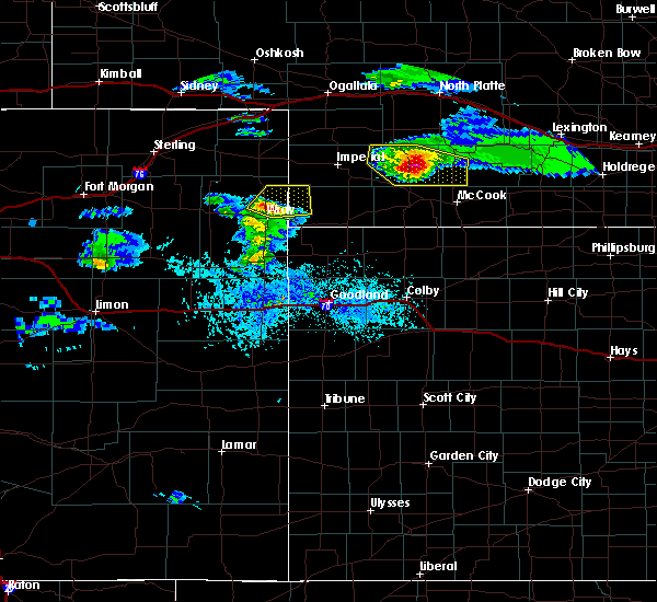 Radar Image for Severe Thunderstorms near Palisade, NE at 5/3/2020 6:57 PM CDT