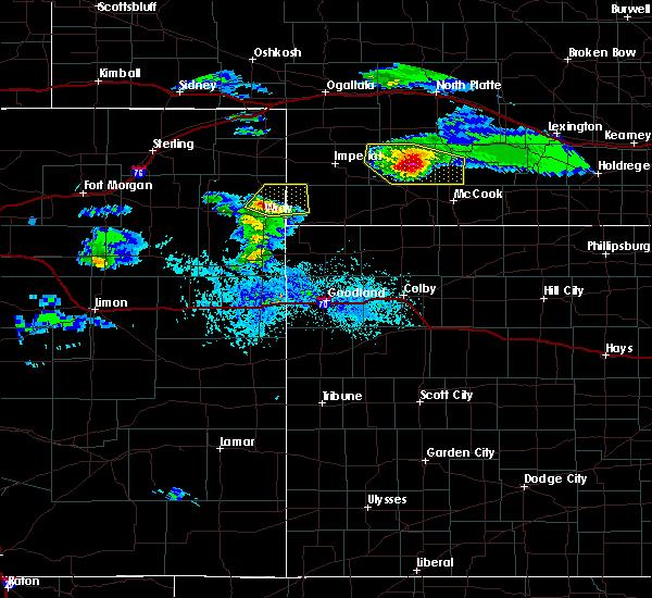 Radar Image for Severe Thunderstorms near Hayes Center, NE at 5/3/2020 6:57 PM CDT