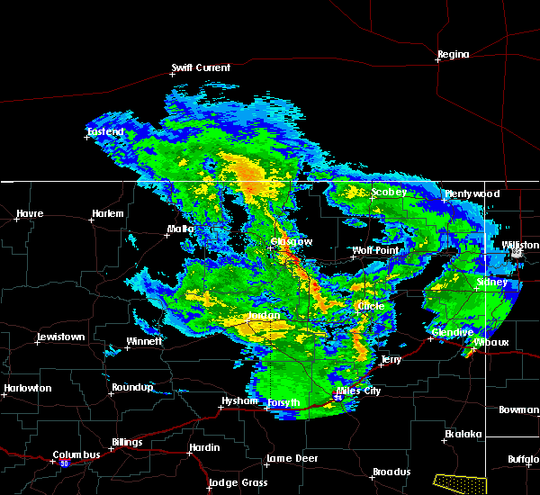 Radar Image for Severe Thunderstorms near Wibaux, MT at 5/3/2020 6:07 PM MDT