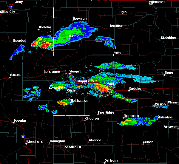 Radar Image for Severe Thunderstorms near Hill City, SD at 5/3/2020 6:10 PM MDT