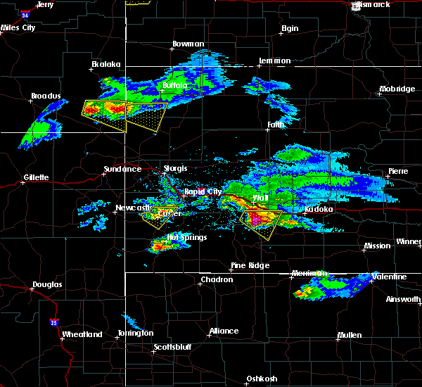 Radar Image for Severe Thunderstorms near Keystone, SD at 5/3/2020 6:39 PM MDT