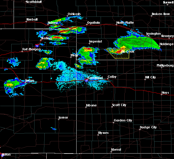 Radar Image for Severe Thunderstorms near Indianola, NE at 5/3/2020 7:41 PM CDT