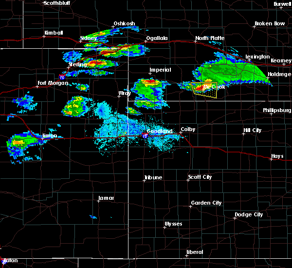 Radar Image for Severe Thunderstorms near Sedgwick, CO at 5/3/2020 6:46 PM MDT