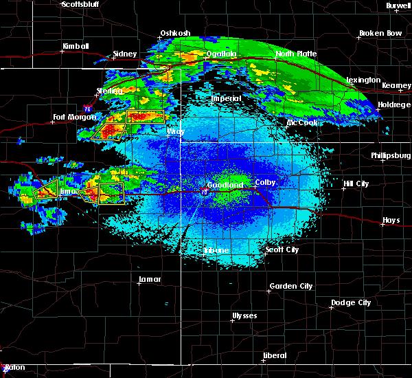 Radar Image for Severe Thunderstorms near Flagler, CO at 5/3/2020 9:08 PM MDT