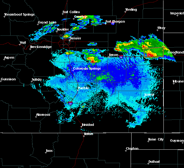 Radar Image for Severe Thunderstorms near Ramah, CO at 5/3/2020 10:34 PM MDT