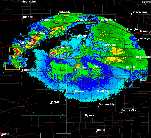 Radar Image for Severe Thunderstorms near Laird, CO at 5/4/2020 12:07 AM MDT