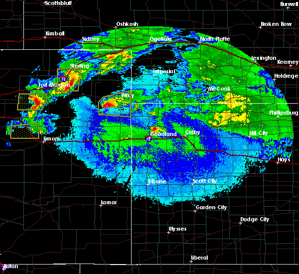 Radar Image for Severe Thunderstorms near Laird, CO at 5/4/2020 12:16 AM MDT
