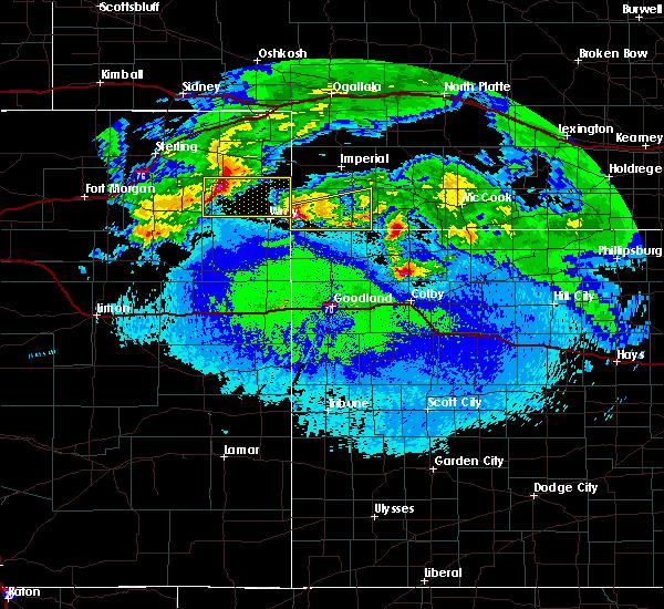 Radar Image for Severe Thunderstorms near Benkelman, NE at 5/4/2020 1:05 AM MDT