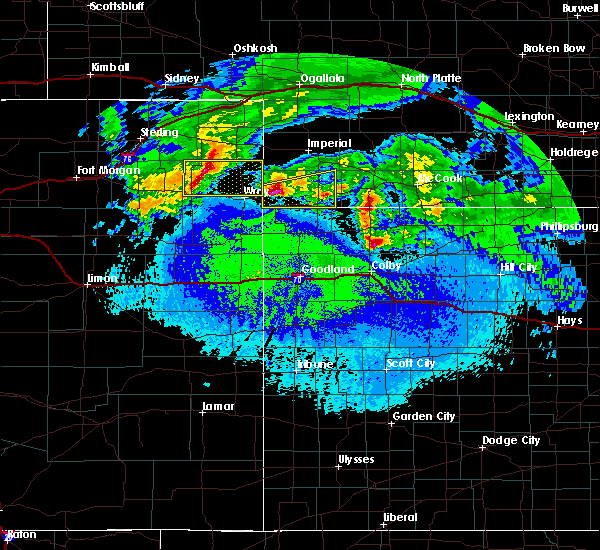 Radar Image for Severe Thunderstorms near Yuma, CO at 5/4/2020 1:15 AM MDT
