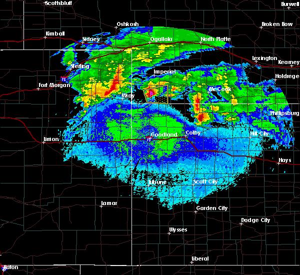 Radar Image for Severe Thunderstorms near Benkelman, NE at 5/4/2020 1:36 AM MDT