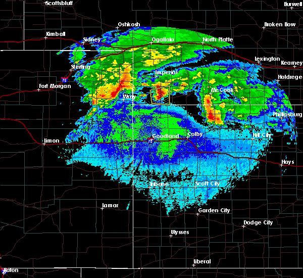 Radar Image for Severe Thunderstorms near Benkelman, NE at 5/4/2020 1:50 AM MDT