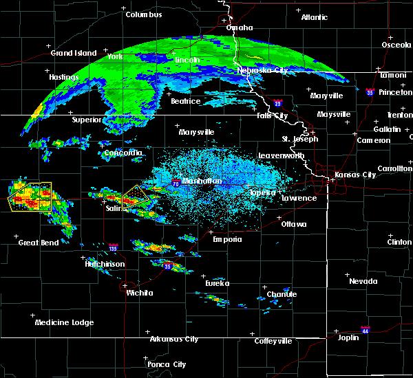 Radar Image for Severe Thunderstorms near Abilene, KS at 5/4/2020 6:41 AM CDT