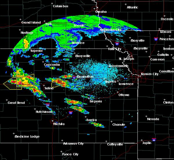 Radar Image for Severe Thunderstorms near Abilene, KS at 5/4/2020 7:00 AM CDT