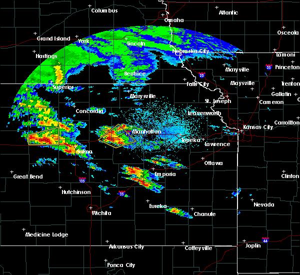 Radar Image for Severe Thunderstorms near Detroit, KS at 5/4/2020 7:16 AM CDT