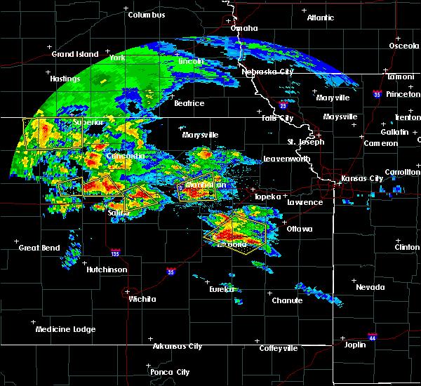 Radar Image for Severe Thunderstorms near Abilene, KS at 5/4/2020 8:18 AM CDT