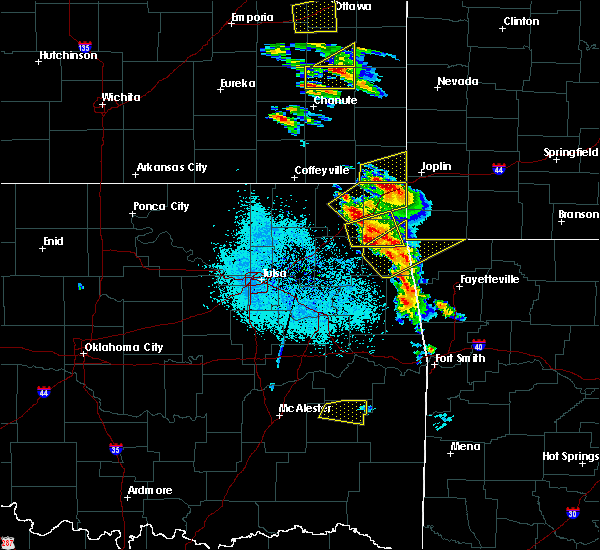 Radar Image for Severe Thunderstorms near Flint Creek, OK at 5/4/2020 9:13 AM CDT