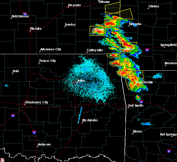 Radar Image for Severe Thunderstorms near Pea Ridge, AR at 5/4/2020 9:47 AM CDT