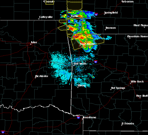 Radar Image for Severe Thunderstorms near Bethel Heights, AR at 5/4/2020 10:18 AM CDT