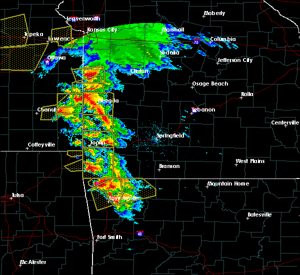 Radar Image for Severe Thunderstorms near Greenfield, MO at 5/4/2020 10:20 AM CDT