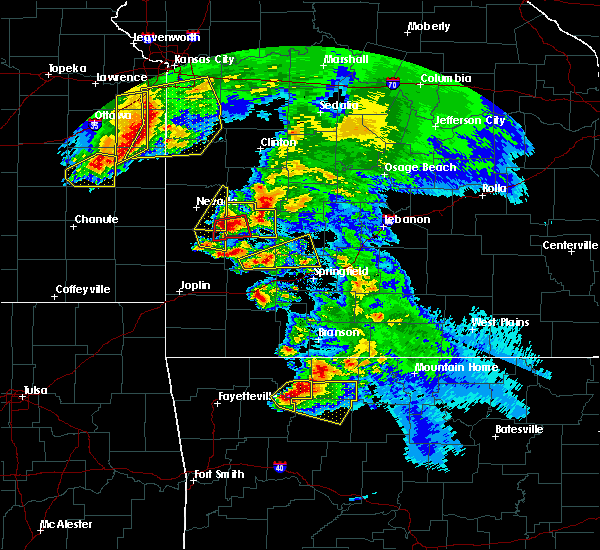 Radar Image for Severe Thunderstorms near Verona, MO at 5/4/2020 11:42 AM CDT