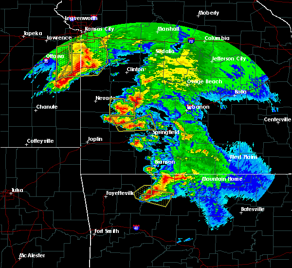Radar Image for Severe Thunderstorms near Western Grove, AR at 5/4/2020 12:00 PM CDT