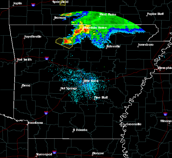 Radar Image for Severe Thunderstorms near Pindall, AR at 5/4/2020 12:43 PM CDT