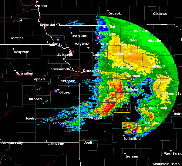Radar Image for Severe Thunderstorms near Tightwad, MO at 5/4/2020 1:07 PM CDT