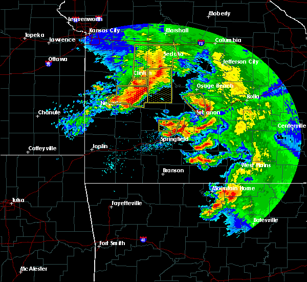 Radar Image for Severe Thunderstorms near Linn Creek, MO at 5/4/2020 1:11 PM CDT