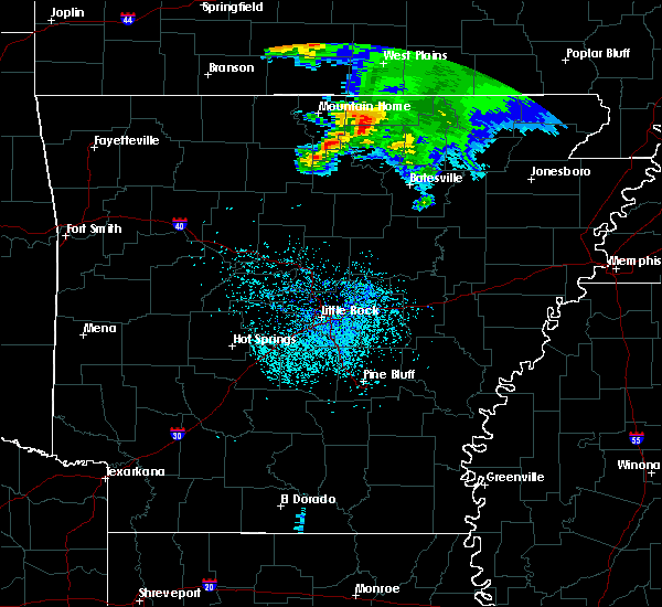 Radar Image for Severe Thunderstorms near Hardy, AR at 5/4/2020 1:12 PM CDT