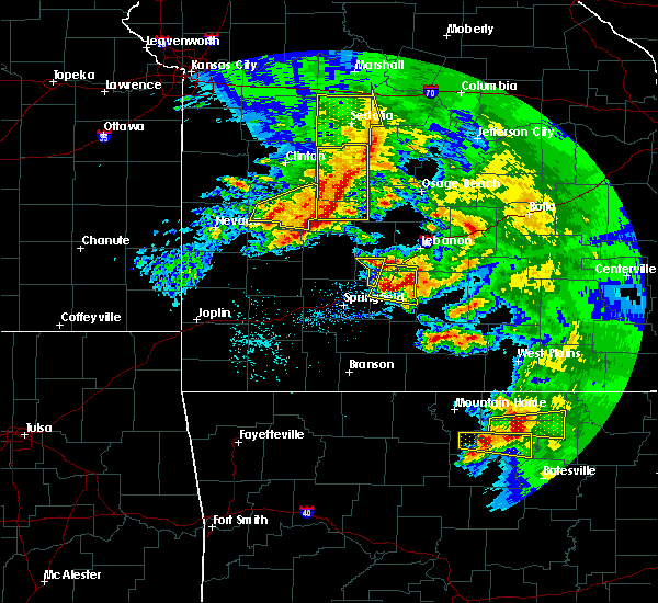 Radar Image for Severe Thunderstorms near Linn Creek, MO at 5/4/2020 1:23 PM CDT
