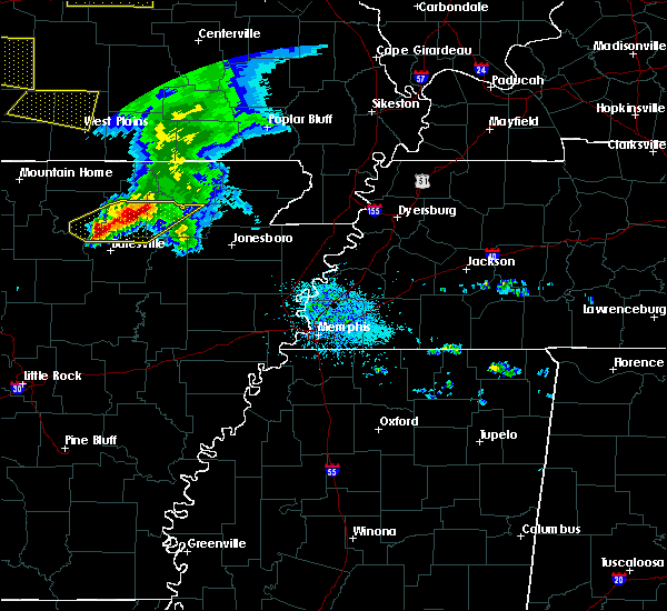 Radar Image for Severe Thunderstorms near College City, AR at 5/4/2020 1:54 PM CDT