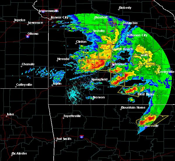 Radar Image for Severe Thunderstorms near Plato, MO at 5/4/2020 1:56 PM CDT