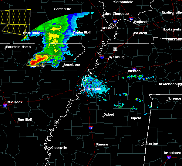 Radar Image for Severe Thunderstorms near College City, AR at 5/4/2020 2:09 PM CDT