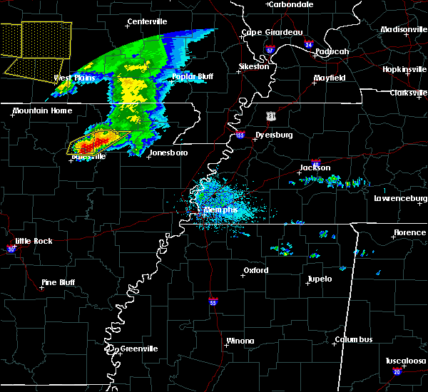 Radar Image for Severe Thunderstorms near Cave City, AR at 5/4/2020 2:13 PM CDT