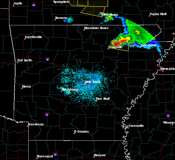 Radar Image for Severe Thunderstorms near Cave City, AR at 5/4/2020 2:15 PM CDT