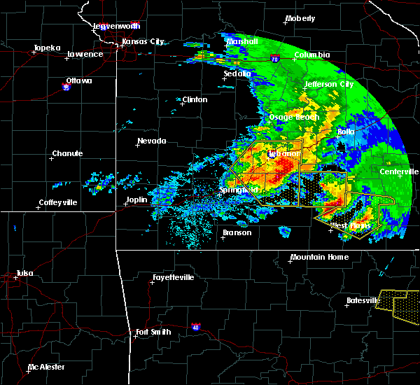 Radar Image for Severe Thunderstorms near Thomasville, MO at 5/4/2020 2:40 PM CDT