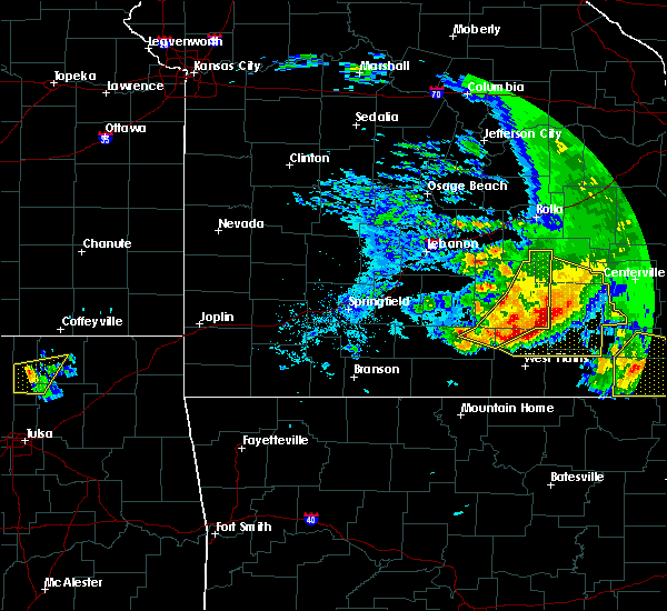 Radar Image for Severe Thunderstorms near Willow Springs, MO at 5/4/2020 3:33 PM CDT