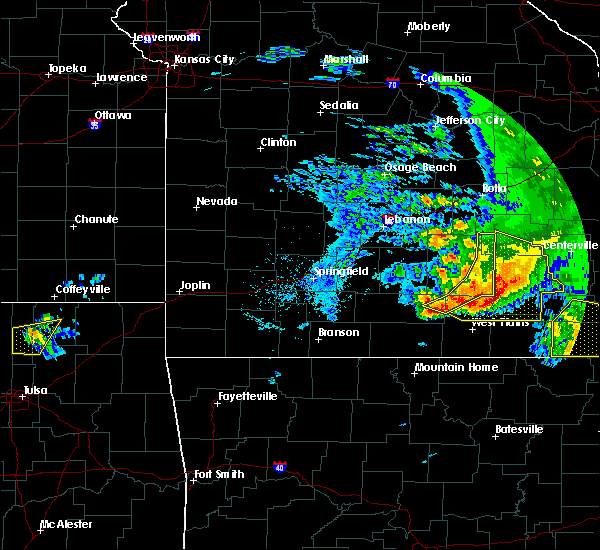 Radar Image for Severe Thunderstorms near Willow Springs, MO at 5/4/2020 3:38 PM CDT