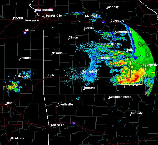 Radar Image for Severe Thunderstorms near Pomona, MO at 5/4/2020 3:50 PM CDT