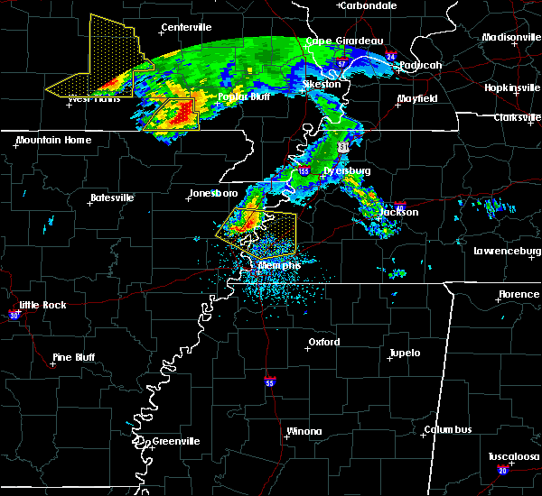 Radar Image for Severe Thunderstorms near Brighton, TN at 5/4/2020 3:51 PM CDT