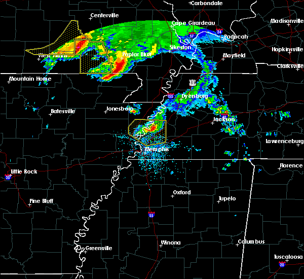 Radar Image for Severe Thunderstorms near Brighton, TN at 5/4/2020 4:07 PM CDT